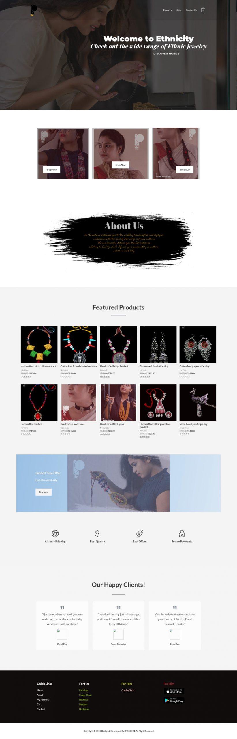 depanache website